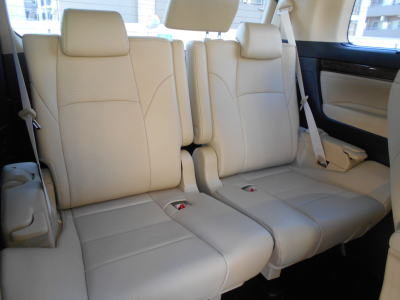 2018 Toyota Alphard Hybrid G-F package back seats
