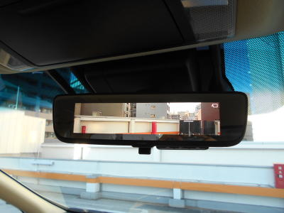 2018 Toyota Alphard Hybrid G-F package rear view mirror